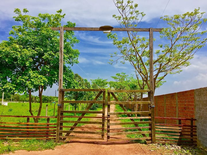 Chalets & Houses in Farm - Quintal Amazon