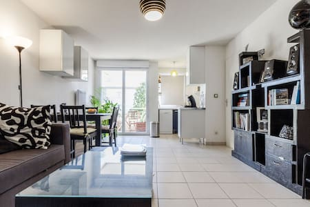Bright 1-bedroom flat, ideal Airbus/Purpan/Toulous - Toulouse - Apartment