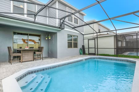 Pool Villa, FREE Waterpark, Lazy River & Game Room