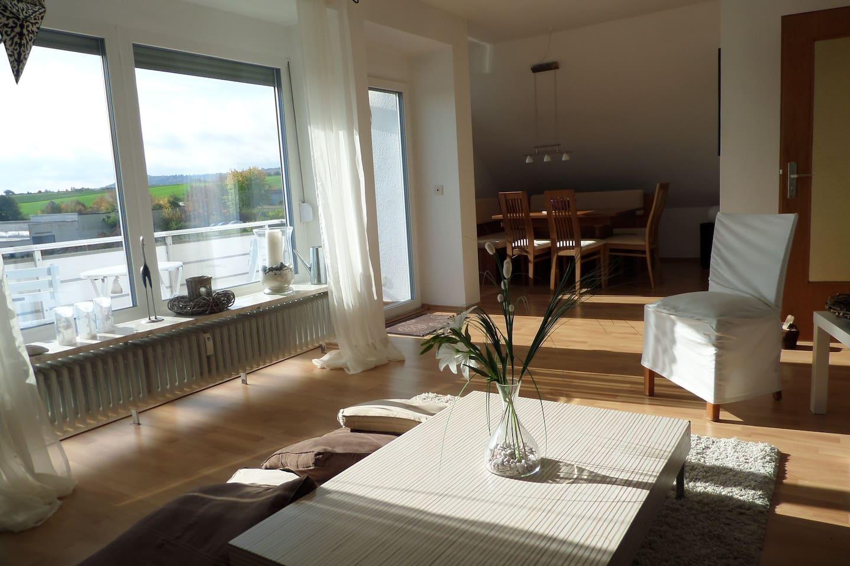 Dachgeschosswohnung im Rosendorf - Wohnungen zur Miete in Bad ...