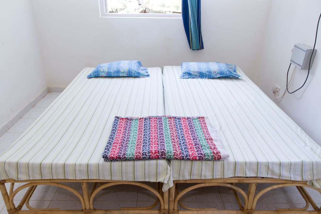 AIR CONDITIONED BEDROOM