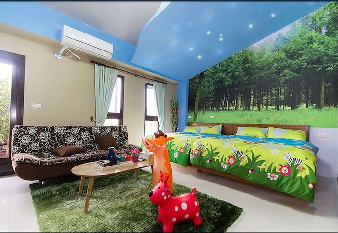 2016全新主題民宿    森林屋(Forest) - Sanxing Township - Haus
