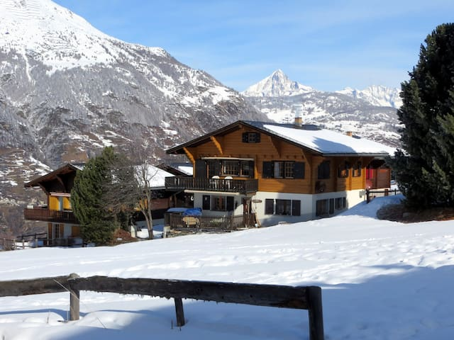 Typical Swiss mountain chalet - Grächen - Chalet