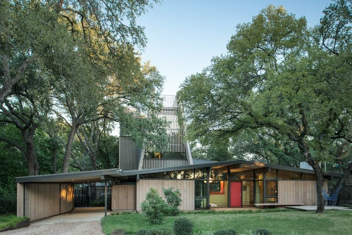 Neighboring Downtown Modern Retreat - West Lake Hills - Hus