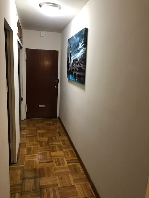 Hallway from the studio!