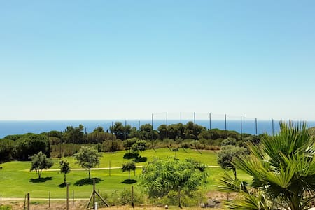 Double room with gorgeous sea view in modern villa - Sant Vicenç de Montalt - วิลล่า