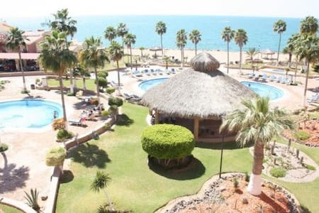 Pinacate: Great 1 Bed 1 Bath Condo on Sandy Beach! - Puerto Peñasco - Wohnung