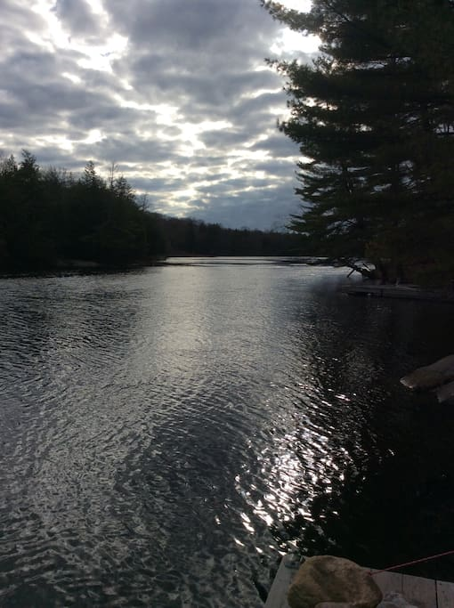 View off dock