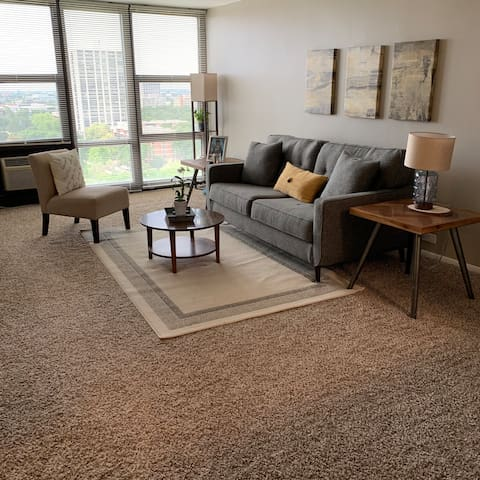 Cozy Mid-Century Apartment in South Loop