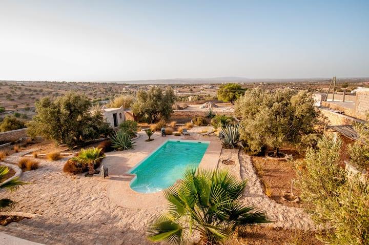 Dar Zinzin,  Summer house with pool -  Essaouira