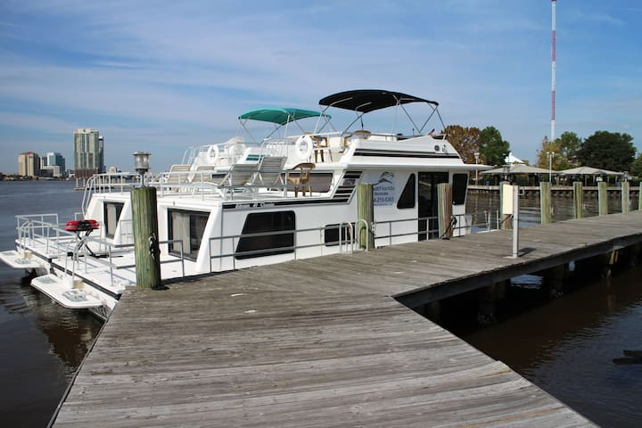 House Boat Fleming Island - Fleming Island - Vaixell