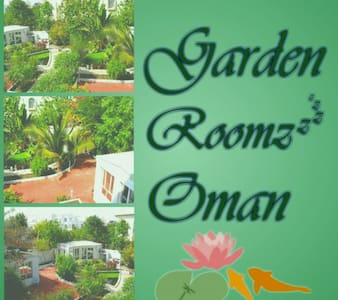 Garden Roomz Oman - Family of 3 - Al Azaiba - B&B