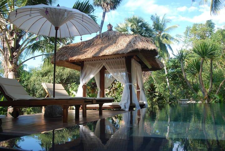 Paradise Found! 1BR Beachfront Private Villa