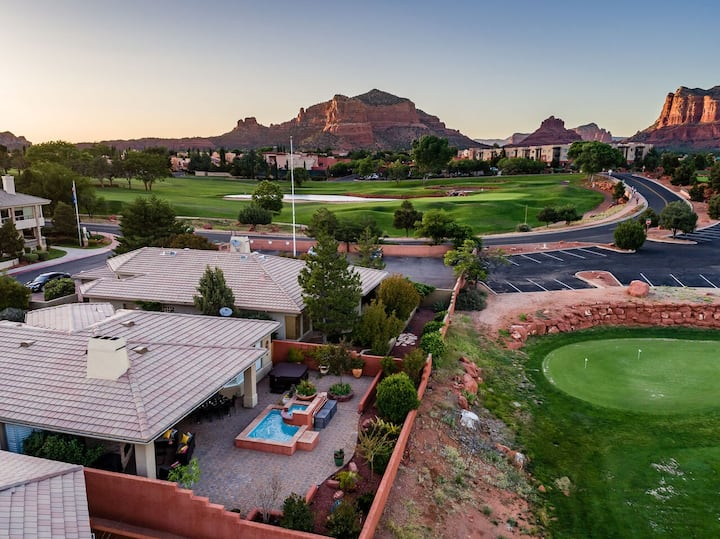 Sedona Golf and Spa Retreat 2 Bedroom-Dazzling Golf and Spa Getaway