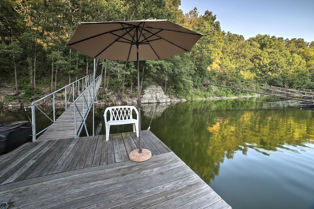 Situated just steps from Grand Lake with easy access to a dock, this home will ensure amazing water adventures.