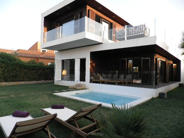 Design house 2 km to the beach - Campos - Haus