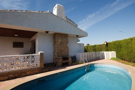 Spacious villa by beach, pool, wifi - Orihuela