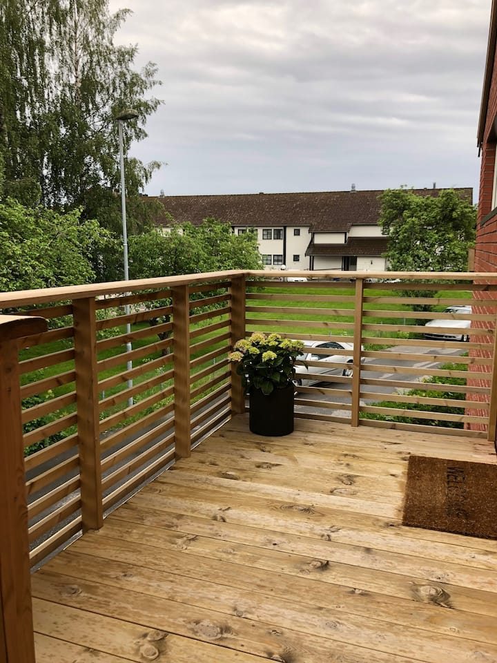 Sentral leilighet på Lund i Kristiansand
