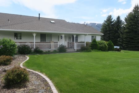 Beautiful Farm Home with privacy and ample space.