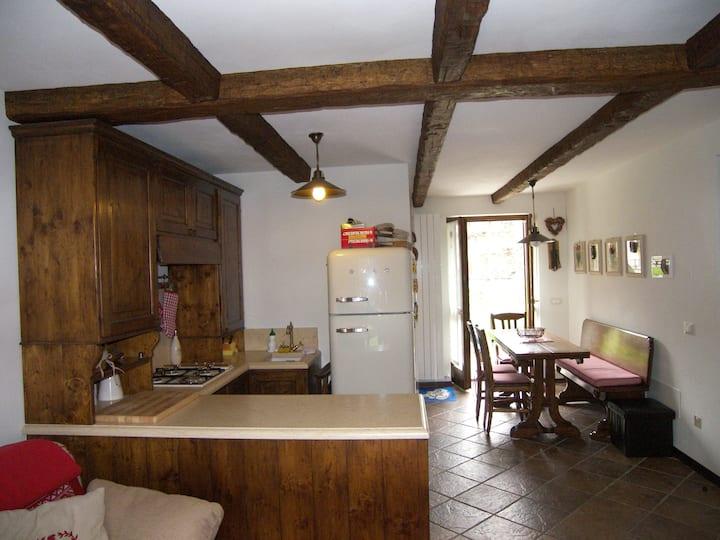Two bedroom flat in Gressoney