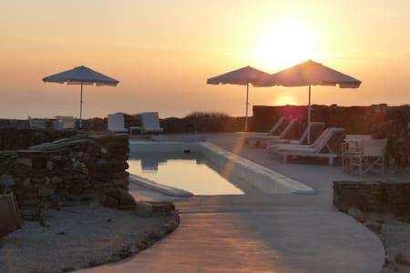 Folegandros-Villa Myrtia & pool - Folegandros