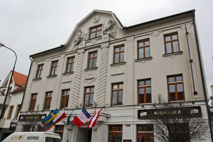Apartmá Deluxe Grand Nymburk - Nymburk - Boutique-hotell