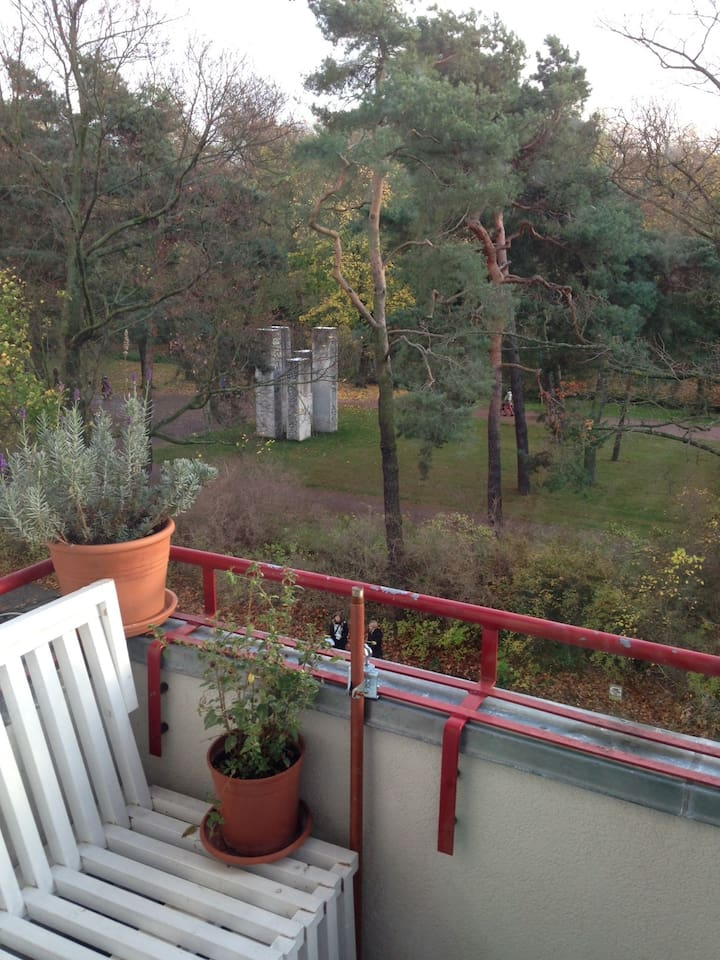 Aussicht Wohnung/Balkon / view from balcony