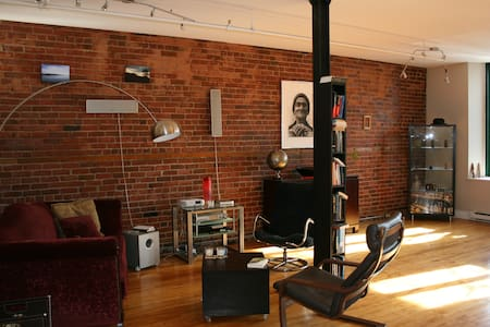 The BEST loft in the Plateau Mont-royal area. - Montreal - Loft
