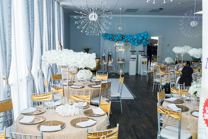 Event Space -  Reception, Showers & Celebrations