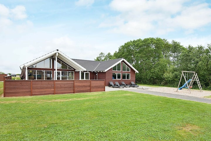 Quaint Holiday Home in Nordborg with Private Pool and Sauna