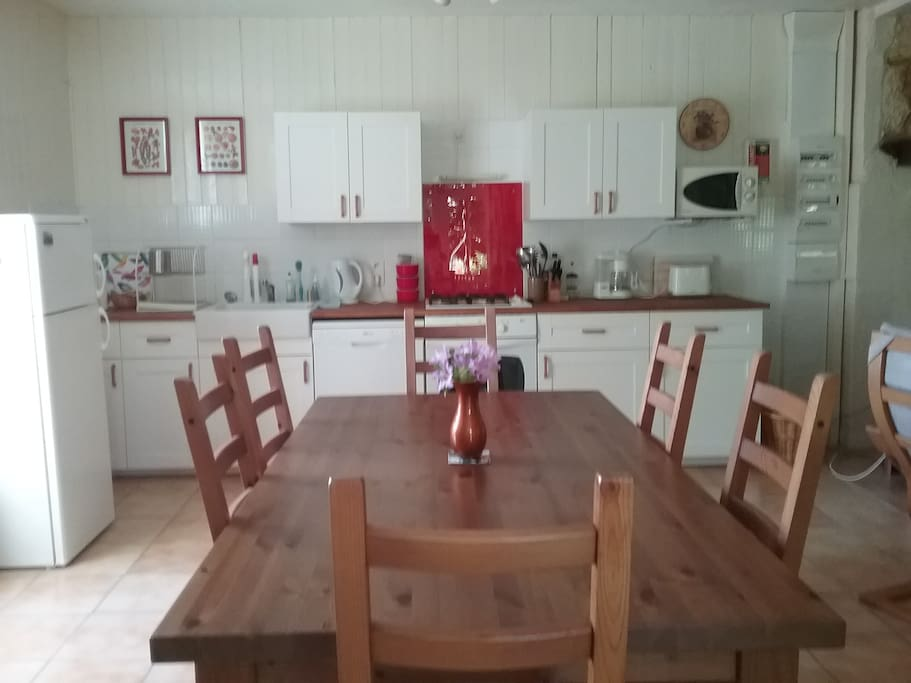 Spacious kitchen/diner