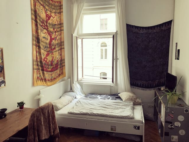 Lovely student flat room in heart of 7th district