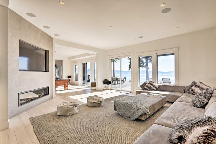 NEW! Villa Bella Tahoe Luxury Living w/Pano Views