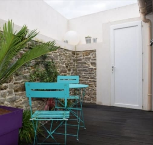 Charmante maison de vacances Port Bourgenay