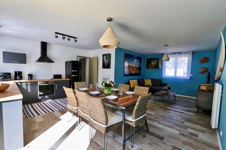 Maison Hawaï, Le Sherwood, entre forêt et mer - Notre-Dame-de-Monts - Appartement en résidence