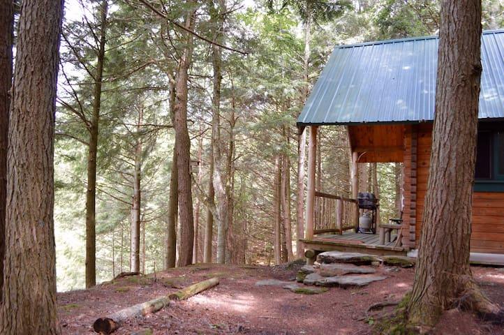 Stowe Rustic Log Cabin Adventure! - Stowe - Cabin
