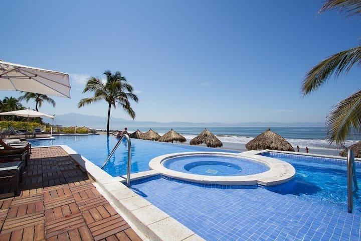 Exclusive Beachfront Condo in Nuevo Vallarta!