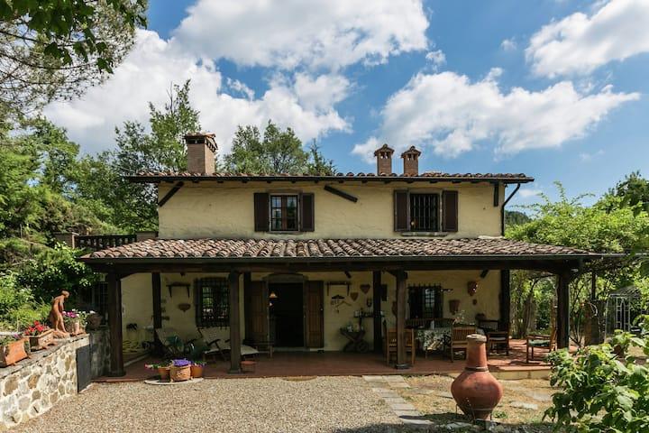 Lavish Villa in Selva Santa Fiora with Pool