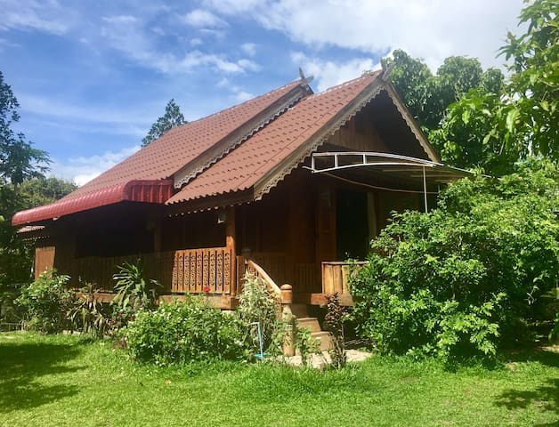 Your Own Private Home in Pai Town- The Teak House