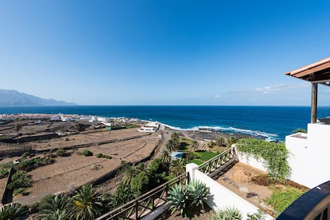 House over sea  Agaete Gran Canaria