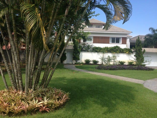Drive-way and front garden
