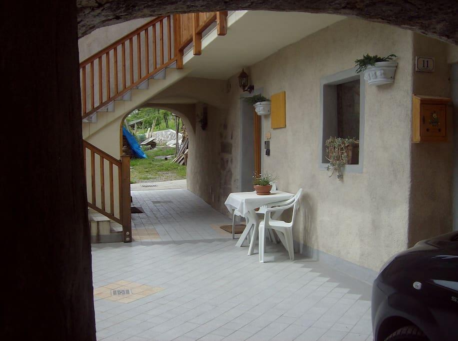 Posto o giardino per stare all'esterno della casa