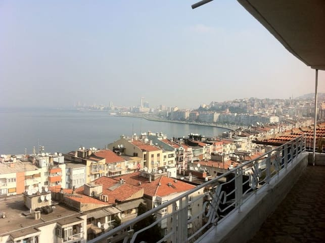 Very beautiful view  in Izmir , - Konak - Apartment