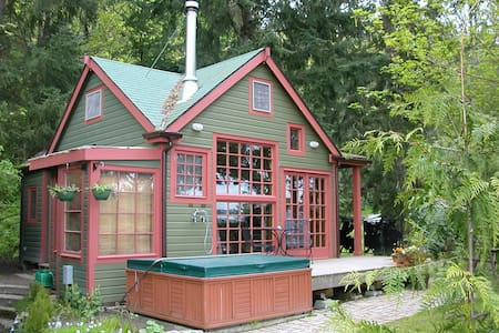 The Last Resort Guest House - Vashon - Cabane