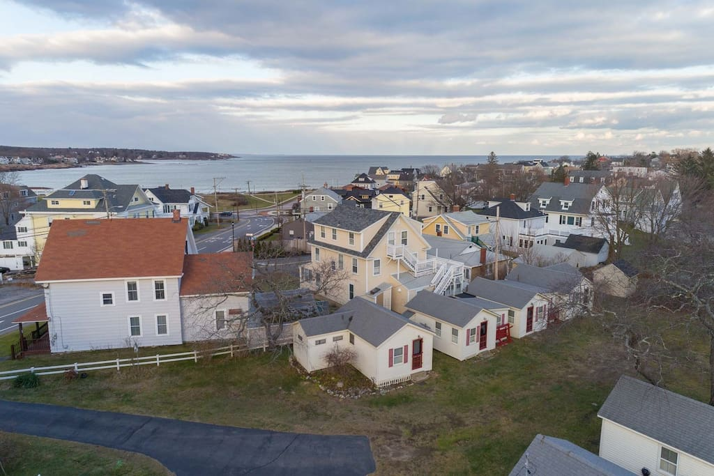 Aerial of cottage 4, 5, 6, 7