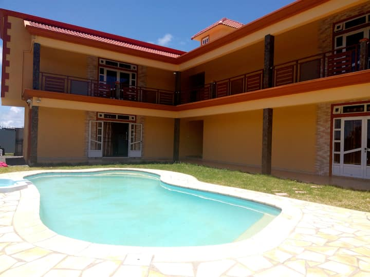 MC Villa- 4 Apartments with Pool at Beau Vallon.
