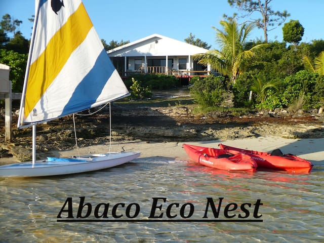 Abaco Eco (URL HIDDEN) Paradise found - Treasure Cay - Rumah