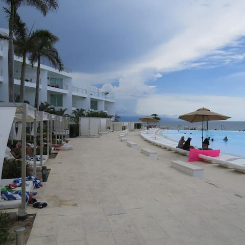 Estudio a pie d Playa, Aria Flamingos Nvo Vallarta