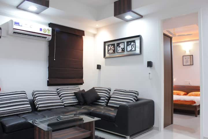 Riverdale one bhk studio apartment full furnished
