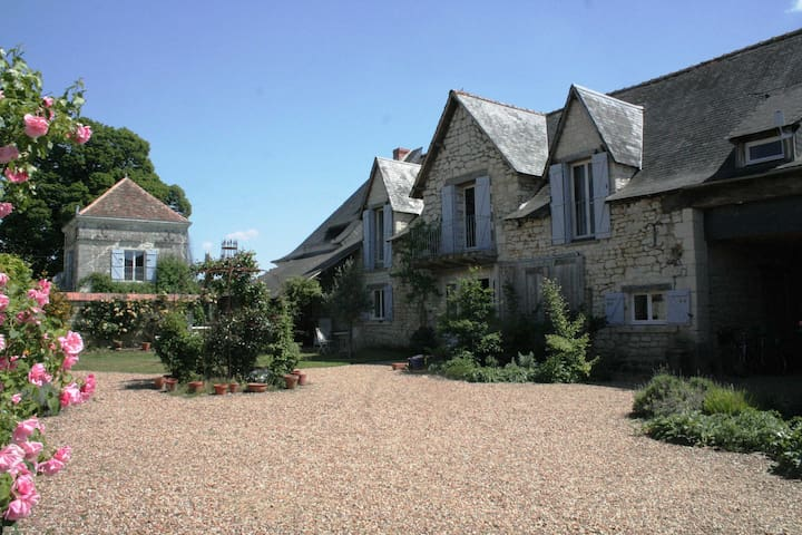 Idyllic French Retreat- B&B1 & pool - Courléon